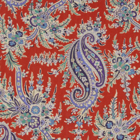 Remnant: Palm Paisley (A): 3 yards 5""