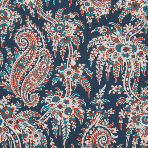 Remnant: Palm Paisley (C): 2 yards 15""