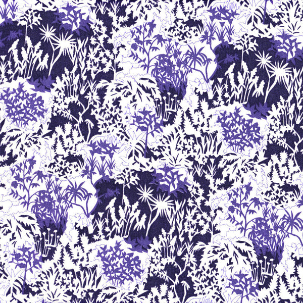 Liberty of London Tana Lawn: Paper Garden Violet A