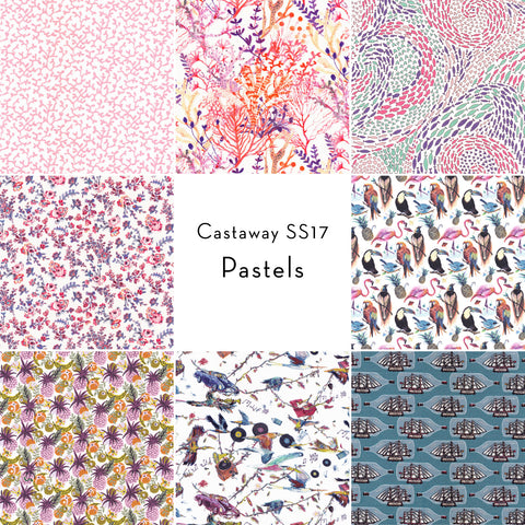 Castaway Collection: Fat Quarter Bundle in Pastels