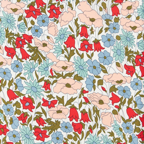 Liberty Fabrics Tana Lawn: Poppy and Daisy (A)