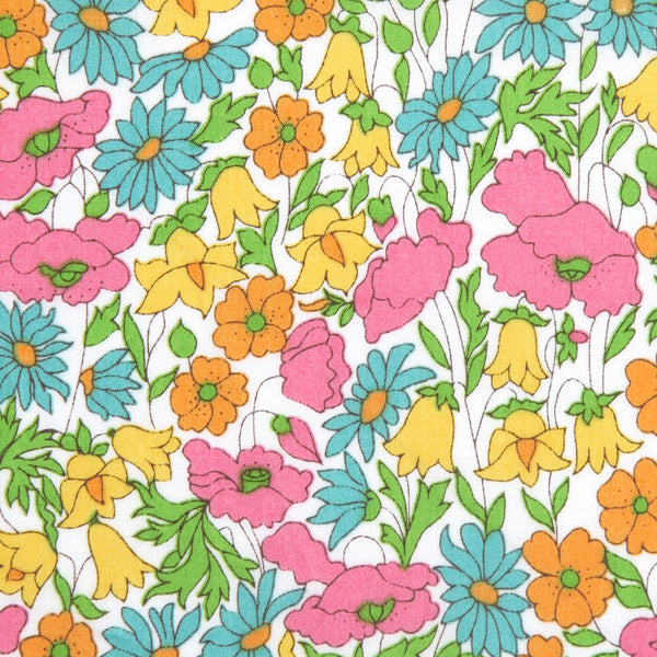 Liberty of London Tana Lawn: Poppy and Daisy Yellow (J)