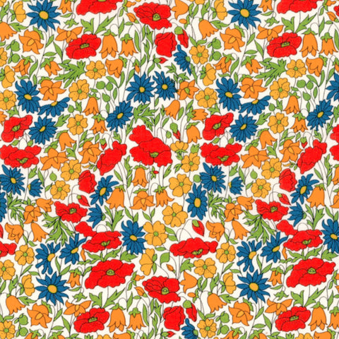 Liberty of London Tana Lawn: Poppy and Daisy (M)