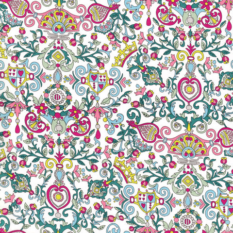 Liberty Fabrics Tana Lawn: Queen of Hearts (A)