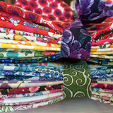 Liberty Tana Lawn: Rainbow Stash Pack: 75 pieces