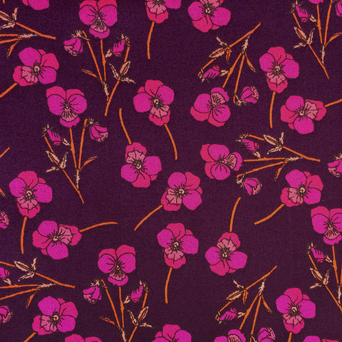 Liberty of London Tana Lawn: Ros Purple (N)