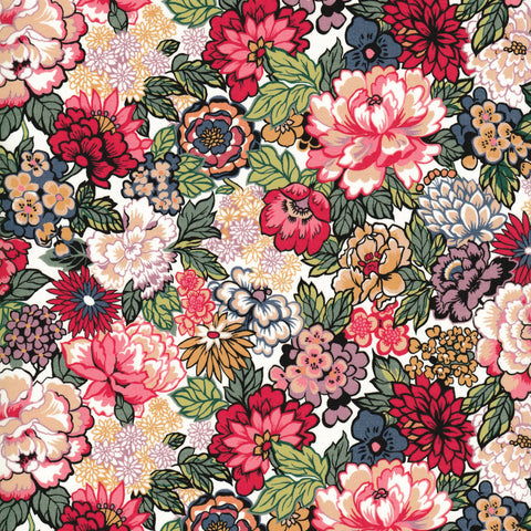 Liberty of London Tana Lawn: Royal Peony (A)