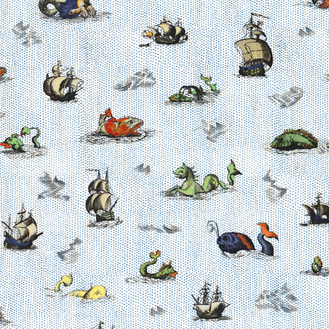 **Pre-Order** Liberty Fabrics Tana Lawn: Sea Myths (C)