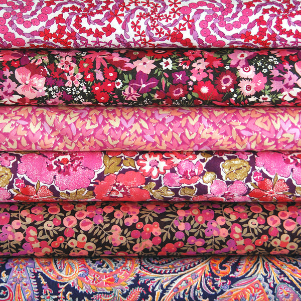 Liberty Tana Lawn: Plum Stash Pack