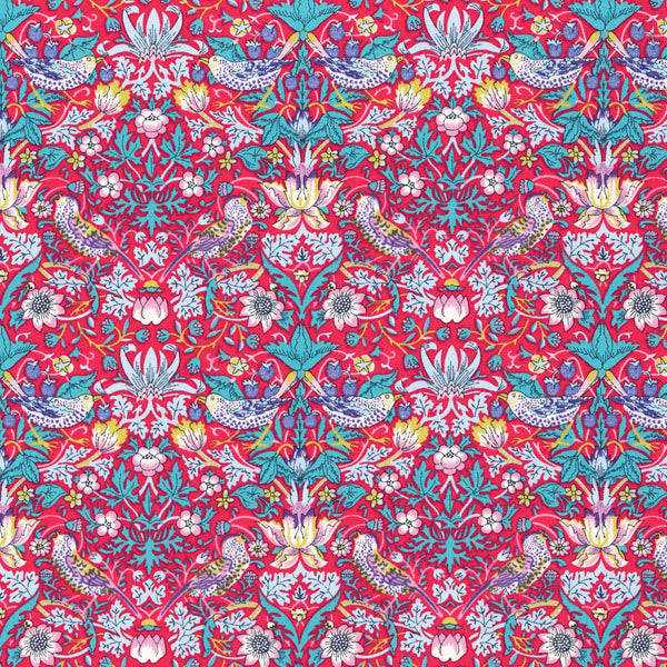 Liberty of London Tana Lawn: Strawberry Thief C-40