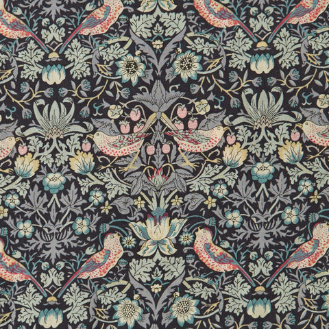 Liberty Fabrics Tana Lawn: Strawberry Thief Grey (L)