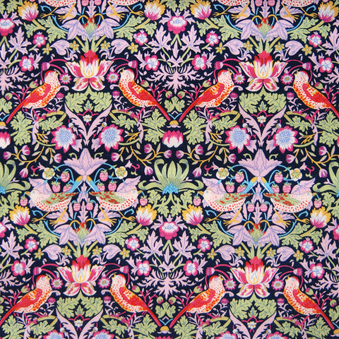 Liberty of London Tana Lawn: Strawberry Thief Pink (H)