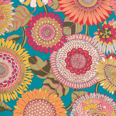 Liberty Fabrics Tana Lawn: Sunflower (C)