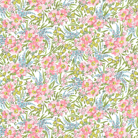 Liberty of London Tana Lawn: Swirling Petals (C)