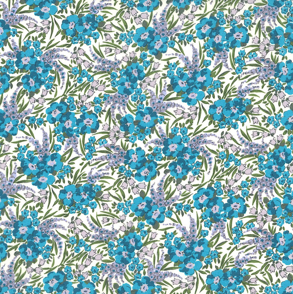 Liberty of London Tana Lawn: Swirling Petals (B)