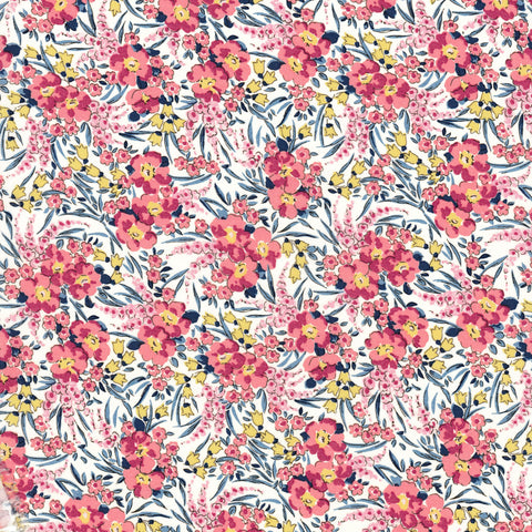 Liberty of London Tana Lawn: Swirling Petals (D)