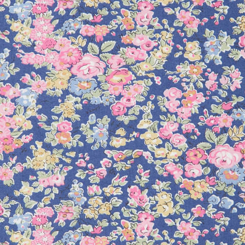Liberty of London Tana Lawn: Tatum Blue/Pink (K)