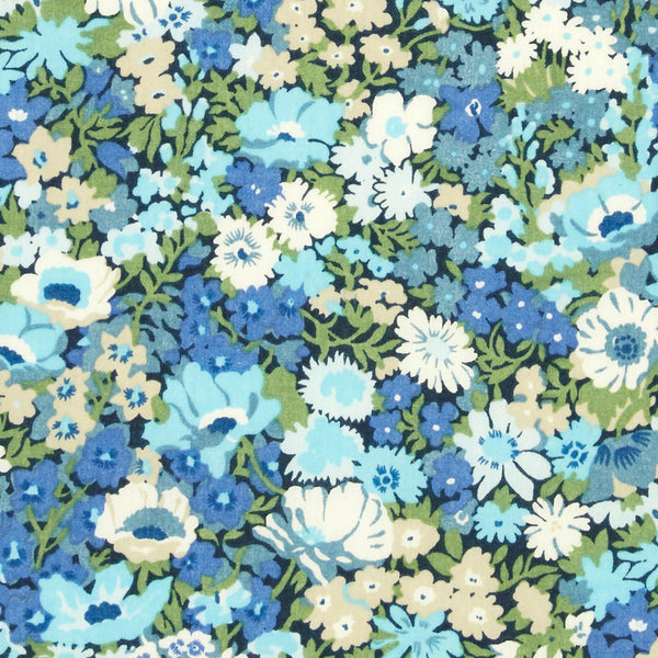 Liberty of London Tana Lawn: Thorpe Blue (T)