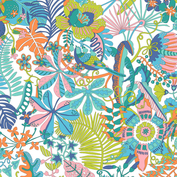 Liberty of London Tana Lawn: Tropical Trails (A)