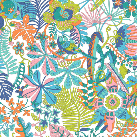 Liberty Fabrics Tana Lawn: Tropical Trails (A)