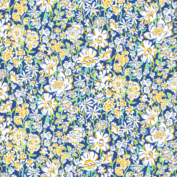 Liberty of London Tana Lawn: White Garden (C)