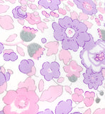 Liberty of London Tana Lawn: Betsy Metallic Lavender Pink