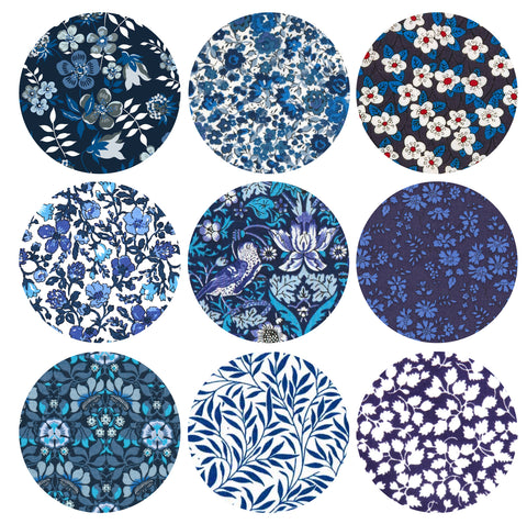 "3"" Small Circles: Blue"