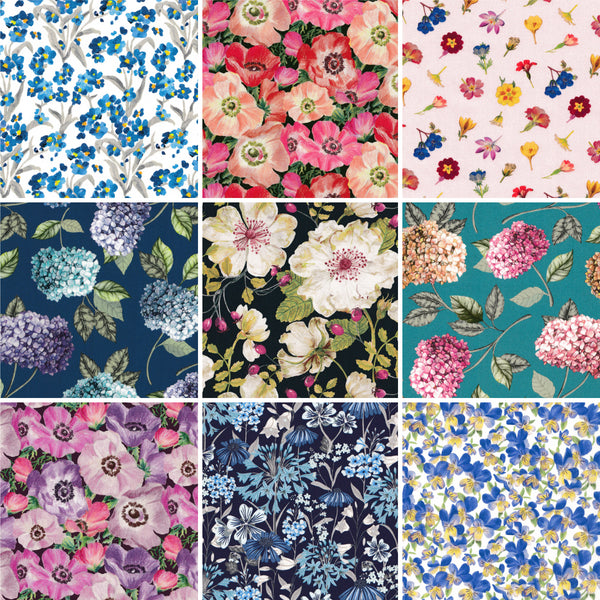 Charm Squares: Botanicals Collection