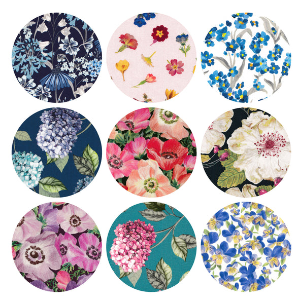 "3"" Small Circles: Botanicals Collection"