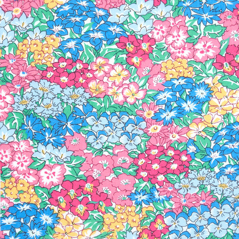 Liberty of London Tana Lawn: Garden Wonderland Blue (A)