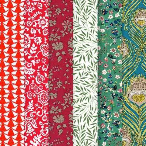 Liberty Tana Lawn: Holiday Stash Pack