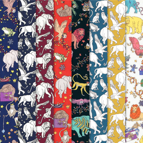 Liberty Christmas Fat Quarter Bundle