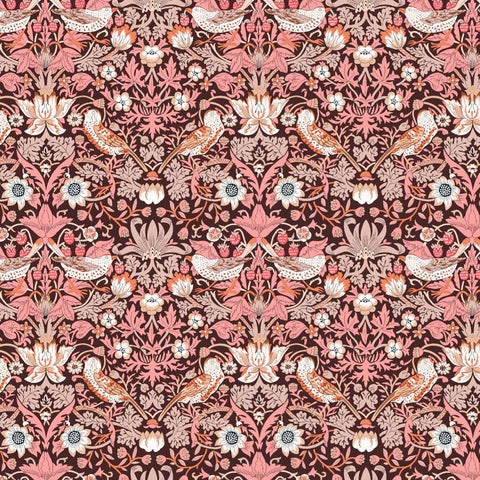 **Pre-Order** Liberty Fabrics Organic Tana Lawn: Strawberry Thief (A)