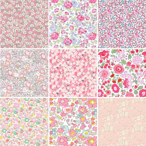 Charm Squares: Pale Pink