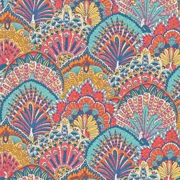 Remnant: Peacock Parade (C): 3 yards 23""