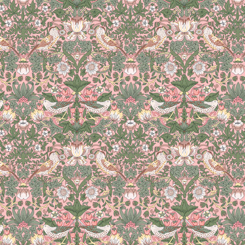**Pre-Order** Liberty Fabrics Organic Tana Lawn: Strawberry Thief Spring (B)
