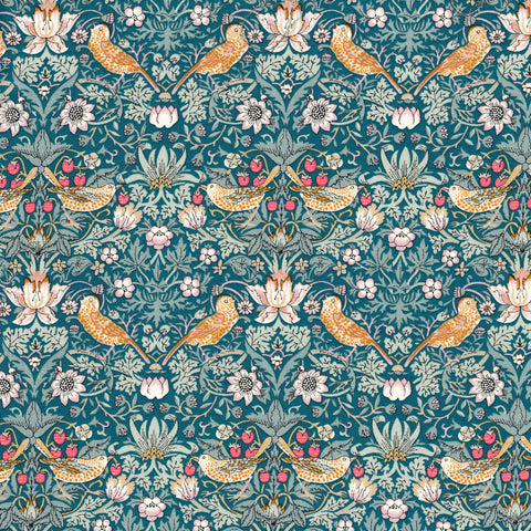 Liberty Fabrics Tana Lawn: Strawberry Thief A-40