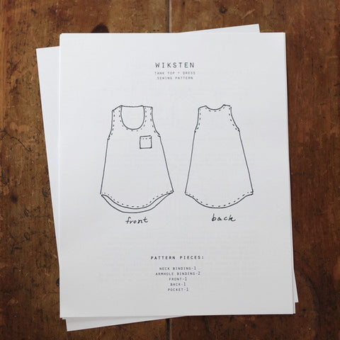 Wiksten: Tank Sewing Pattern