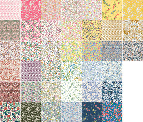 **Pre-Order** Liberty Fabrics Organic Tana Lawn: Full Collection FQ Bundle