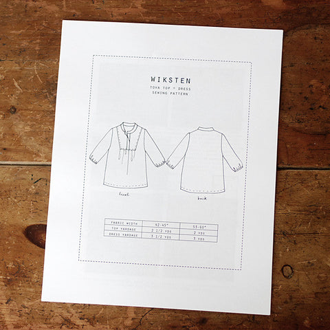 Wiksten: Tova Sewing Pattern