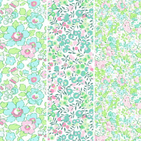 Liberty Tana Lawn: Watermelon Fat Quarters