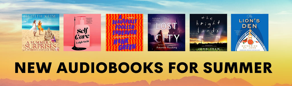 10 New Audiobooks for Summer