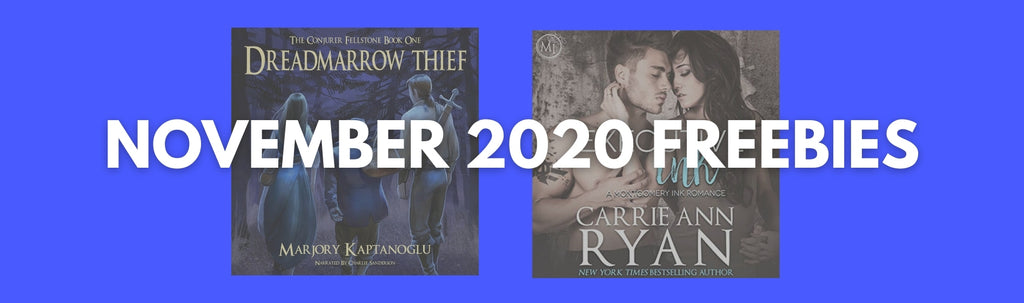 November 2020 Free Audiobooks