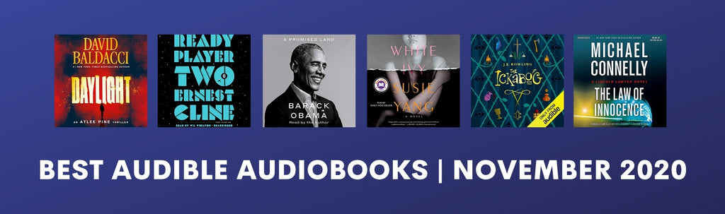 The Best Audible Audiobooks | November 2020