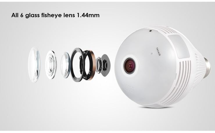 360 Degree LED Light 960P CCTV - Mscc2777