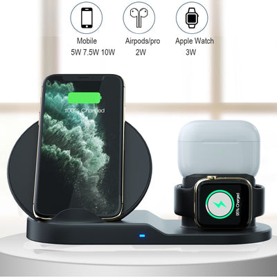 3 In 1 Fast Wireless Charger - CCE2777