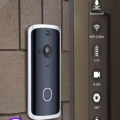 Smart WiFi Video Doorbell Camera - Mscc2777