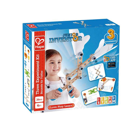 Hape Jr Inventor Three Experiment Kit