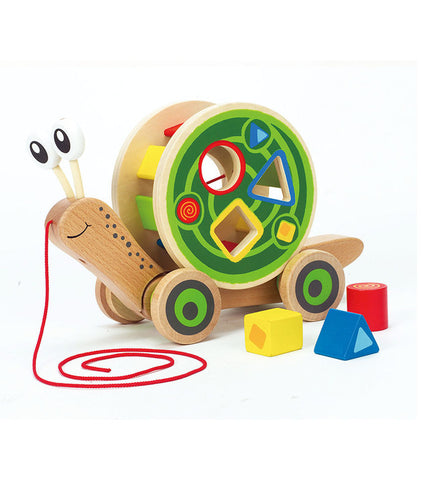 Hape - Walk Along Snail
