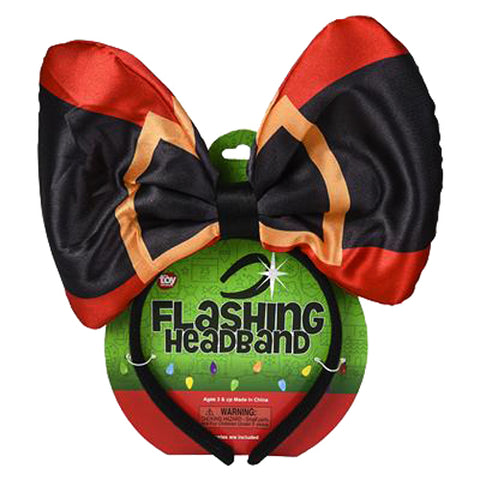 Toy Network Flashing Christmas Headbands